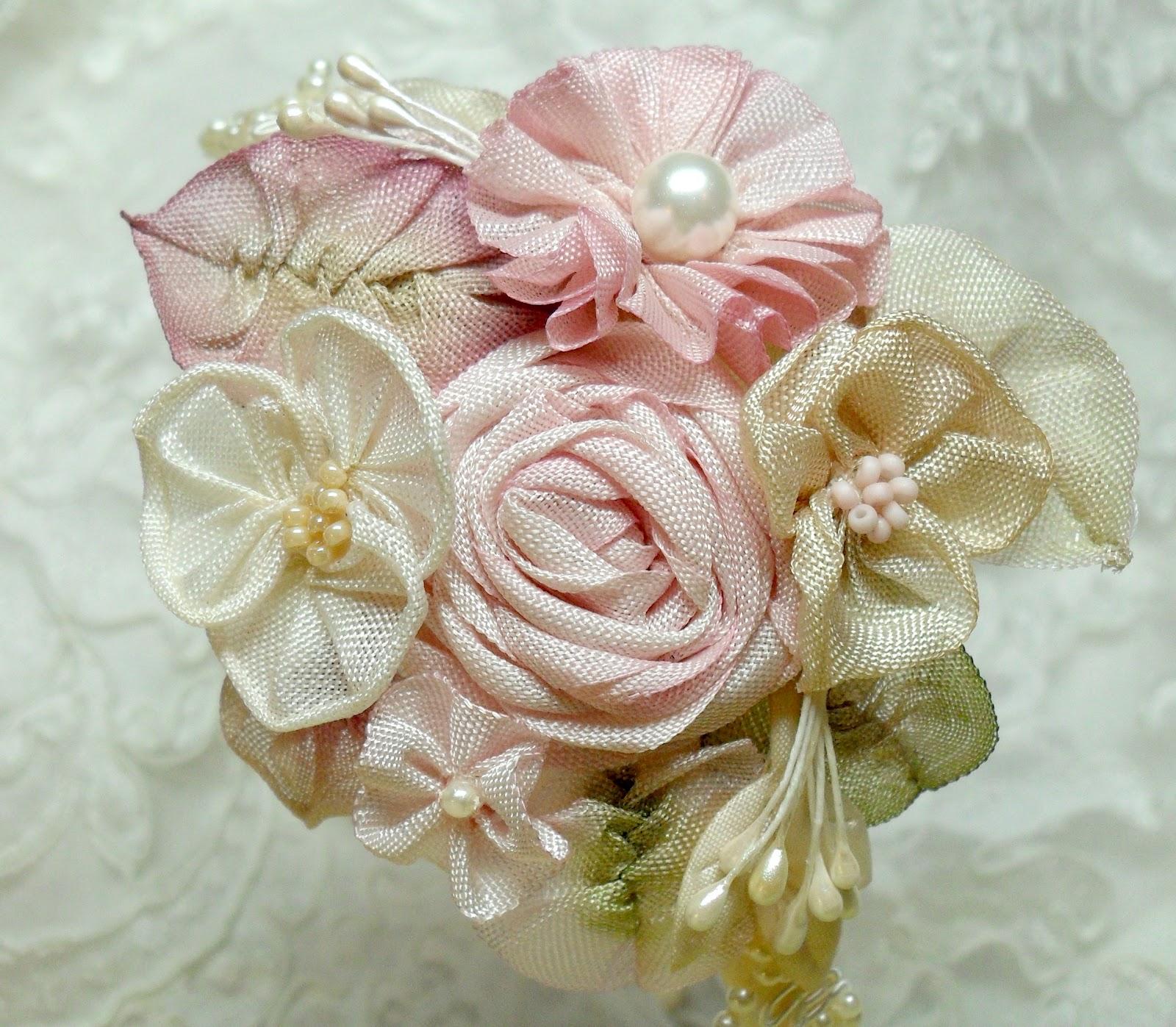 Lambs And Ivy Designs Ribbonwork Flower Tutorial