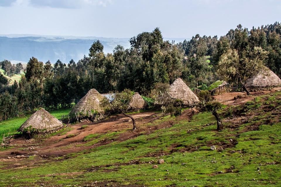 etióp falu