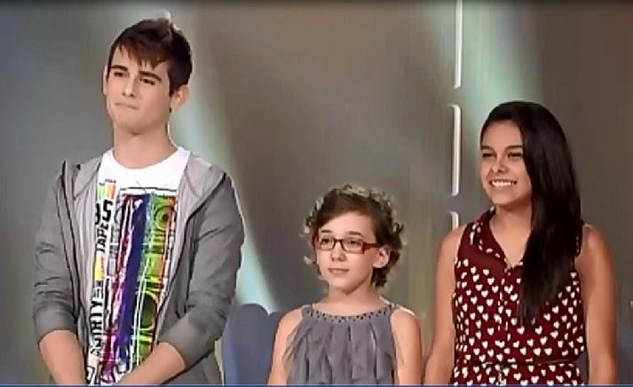 Carlos Weimberg pasa a la Gran final de La Voz Kids iraila kamy
