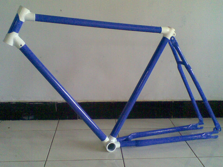 jual frame fixie 250 rb nego