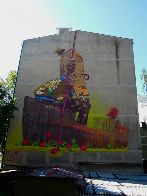 Street art by artflymovie etam cru street art by for Cape cinema mural