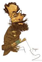 Caricatura de Machado de Assis (Poemas Avulsos)