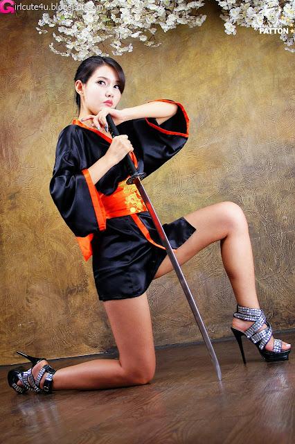 8 Cha Sun Hwa - Samurai Girl-very cute asian girl-girlcute4u.blogspot.com