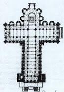 TEMA nº 4.- Planta y alzado de la Catedral de Santiago de Compostela.