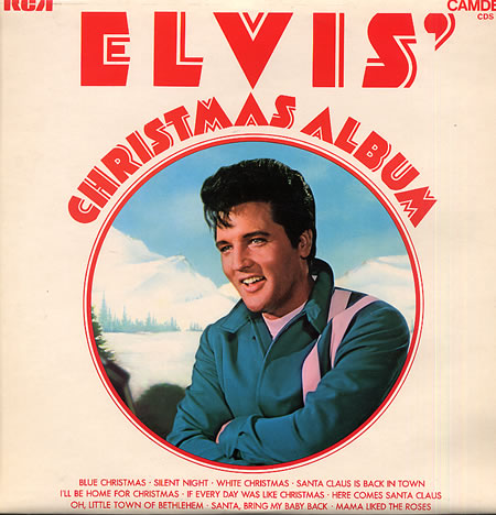 i was going to feature the kings uber cool version of winter wonderland from his second xmas album but who can deny the genius - Elvis Presley Blue Christmas
