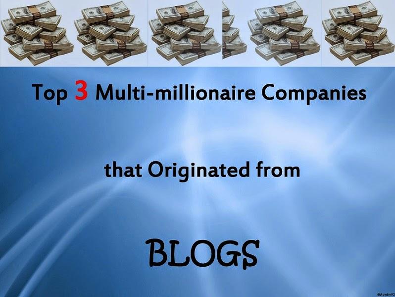 Top 3 Multi-millionaire Blogs