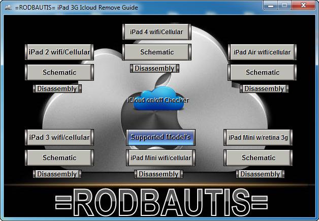 برنامج فتح جميع  ايكلاود  All  iPad  icloud Remove
