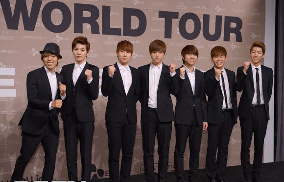 infinite's one great step world tour press con 130610