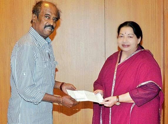 உங்கள் அன்புக்கு நன்றி: ரஜினிக்கு ஜெயலலிதா பதில் - ஜெயலலிதாவுக்கு ரஜினி, மேனகா வாழ்த்து: பாஜக அதிர்ச்சி - தேன்கூடு | தமிழ் பதிவுகள் திரட்டி | Tamil Blogs Aggregator