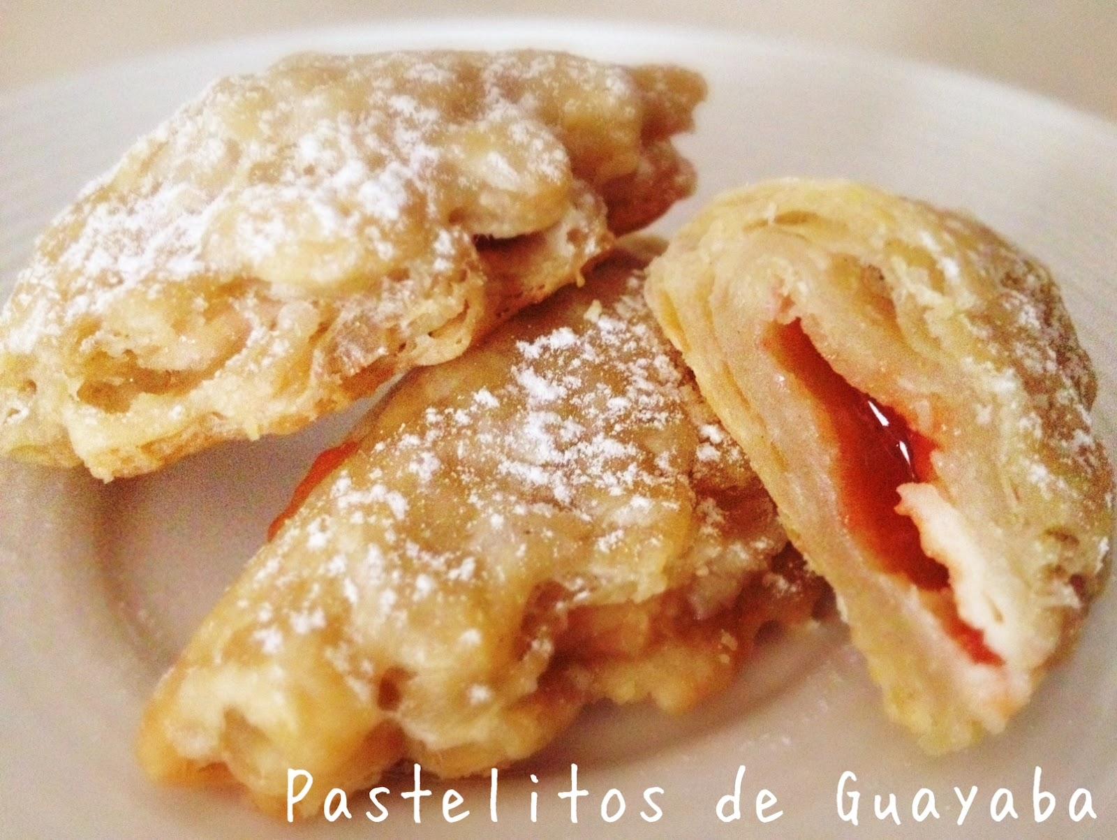 Wholly Vegan: VeganMoFo Day 4: Pastelitos de Guayaba (Guava Pastries)