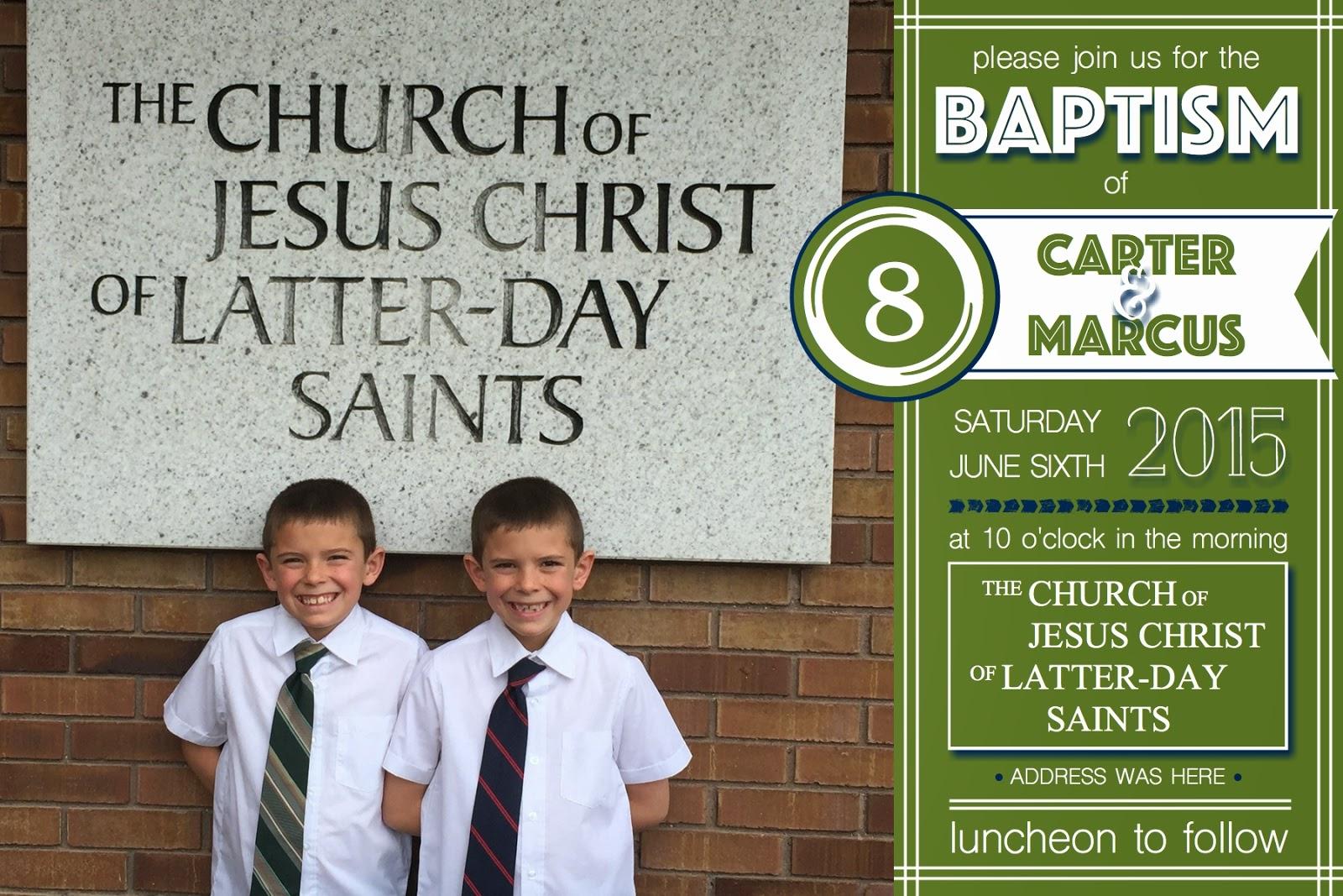 What 5 Teach Me LDS Baptism Invitation