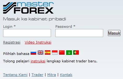 Cara withdraw di masterforex