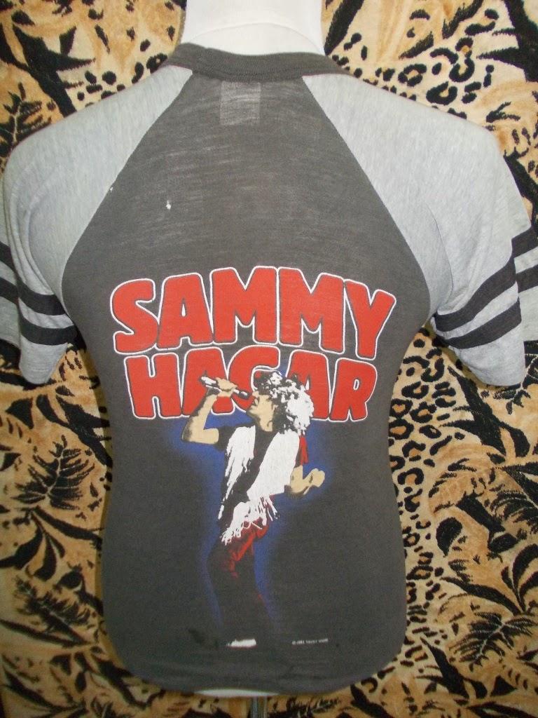 VTG SAMY HAGAR SHIRT 2