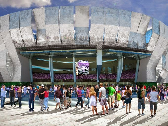 City unveils new report with details on arena design