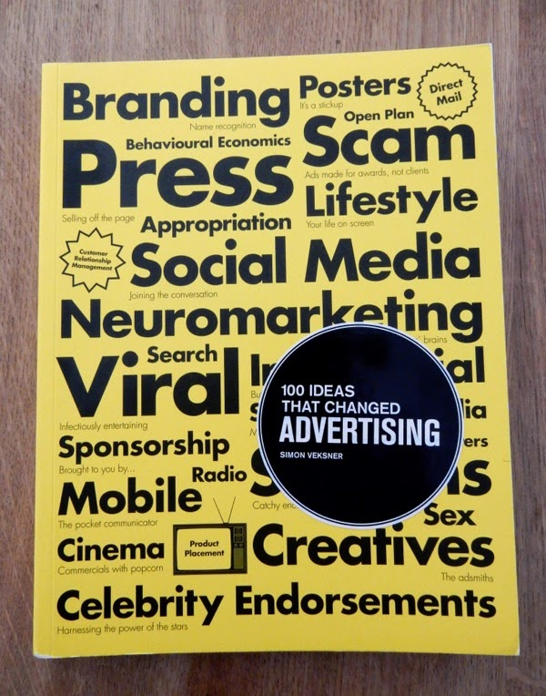 100 ideas that changed advertising book cover