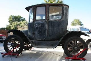 auto eléctrico antiguo, coche eléctrico antiguo