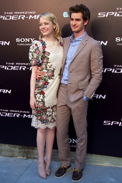 The Amazing SpiderMan-Hero Andrew Garfield and Heroin Emma Stone_MyClipta