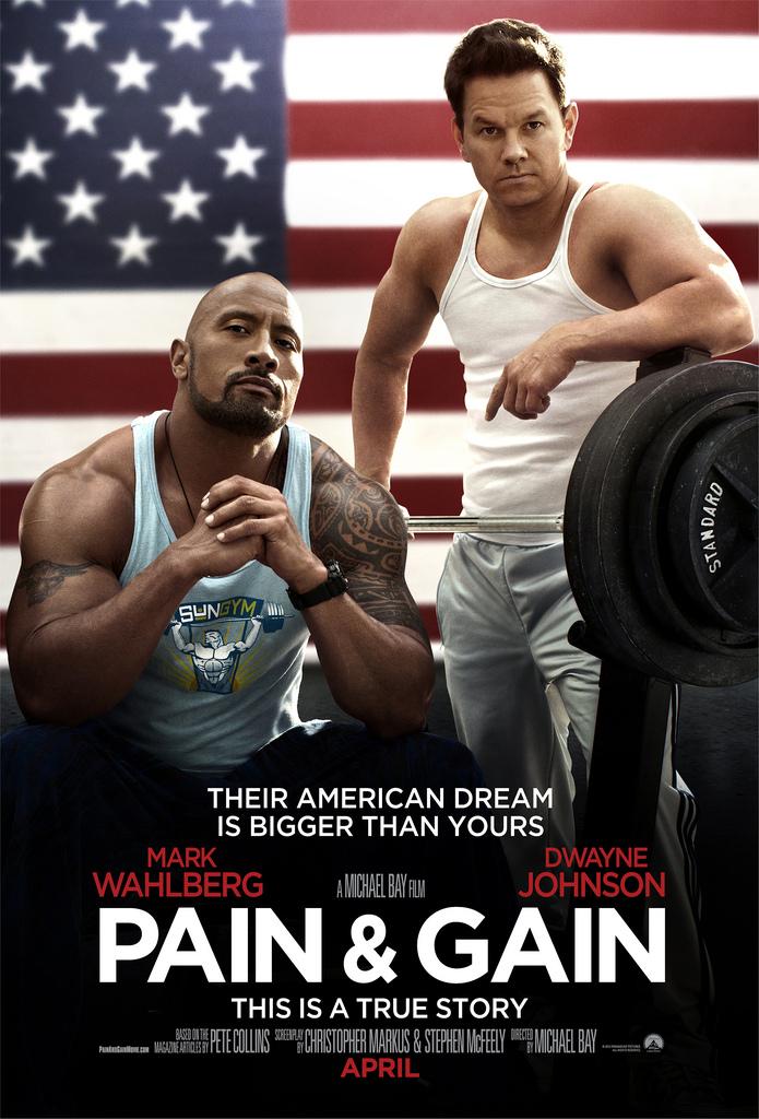 ตัวอย่างหนังใหม่ : Pain&Gain (ไม่เจ็บ ไม่รวย) ซับไทย  poster
