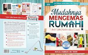 "BUKU ""MUDAHNYA MENGEMAS RUMAH"" terbitan Telaga Biru"