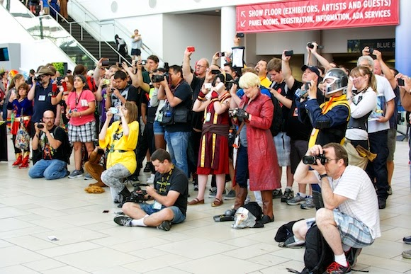 Taking Pictures at Denver Comic Con, 2014