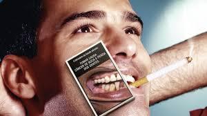 Fumar causa câncer e perda dos dentes