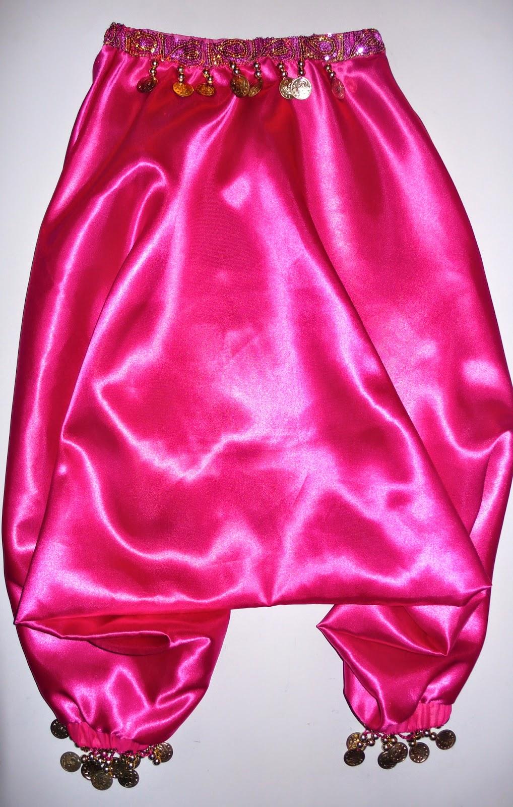 Tutorial pantalón sarouel para niña