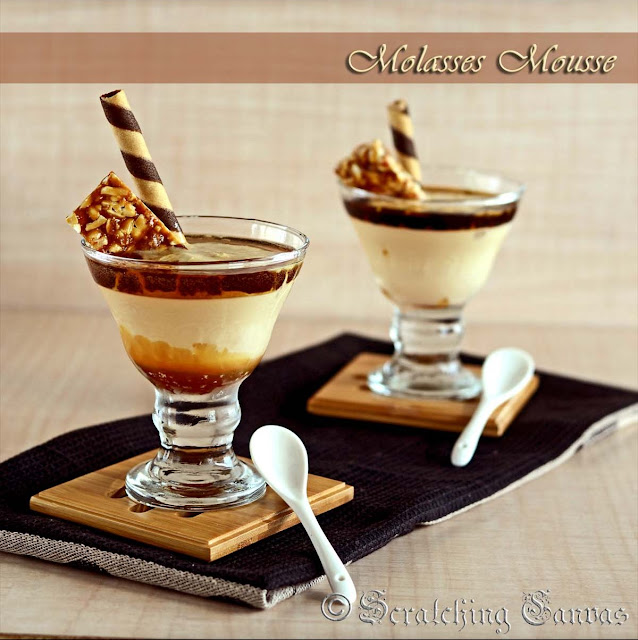 Egg Free Sugar  Free Molasses Mousse