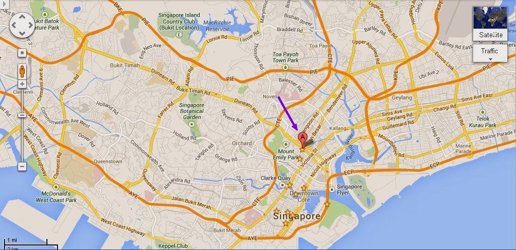 Detail Sim Lim Square Singapore Location Map – Tourist Map Of Singapore City