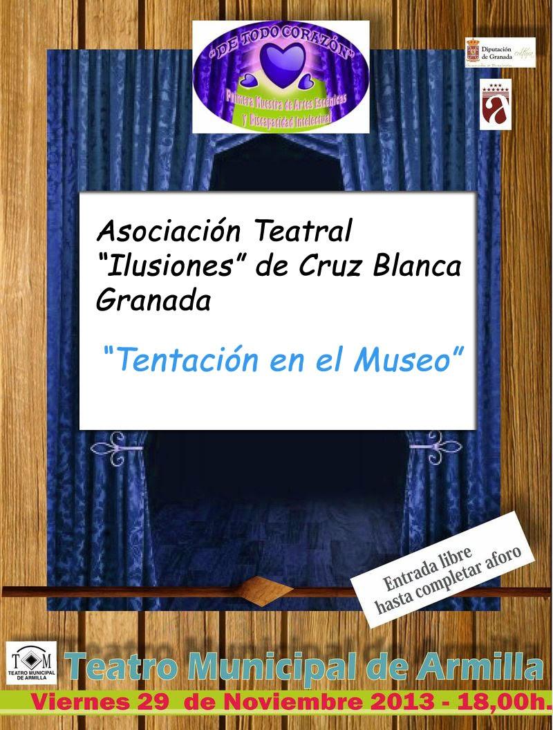 """Viernes - """"Tentación en el Museo"""""""