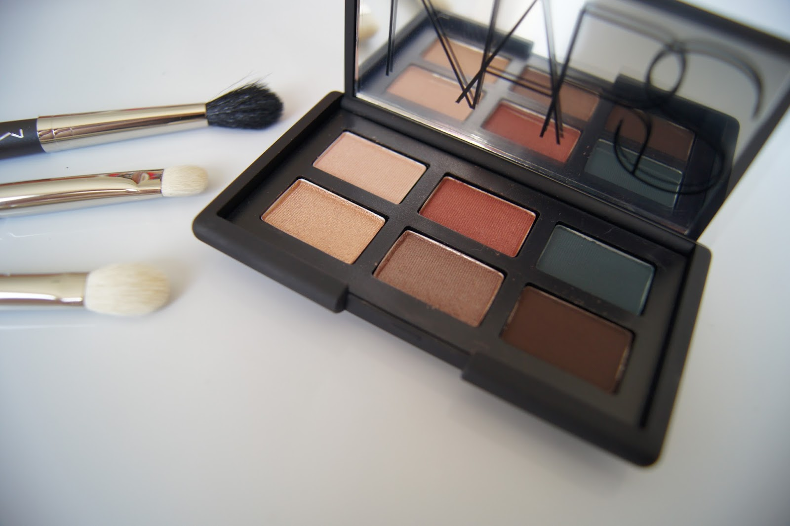 NARS Eye Opening Act-Yeux Irresistible Eyeshadow Palette review