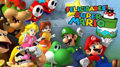 ¡Feliz Cumpleaños Super Mario!