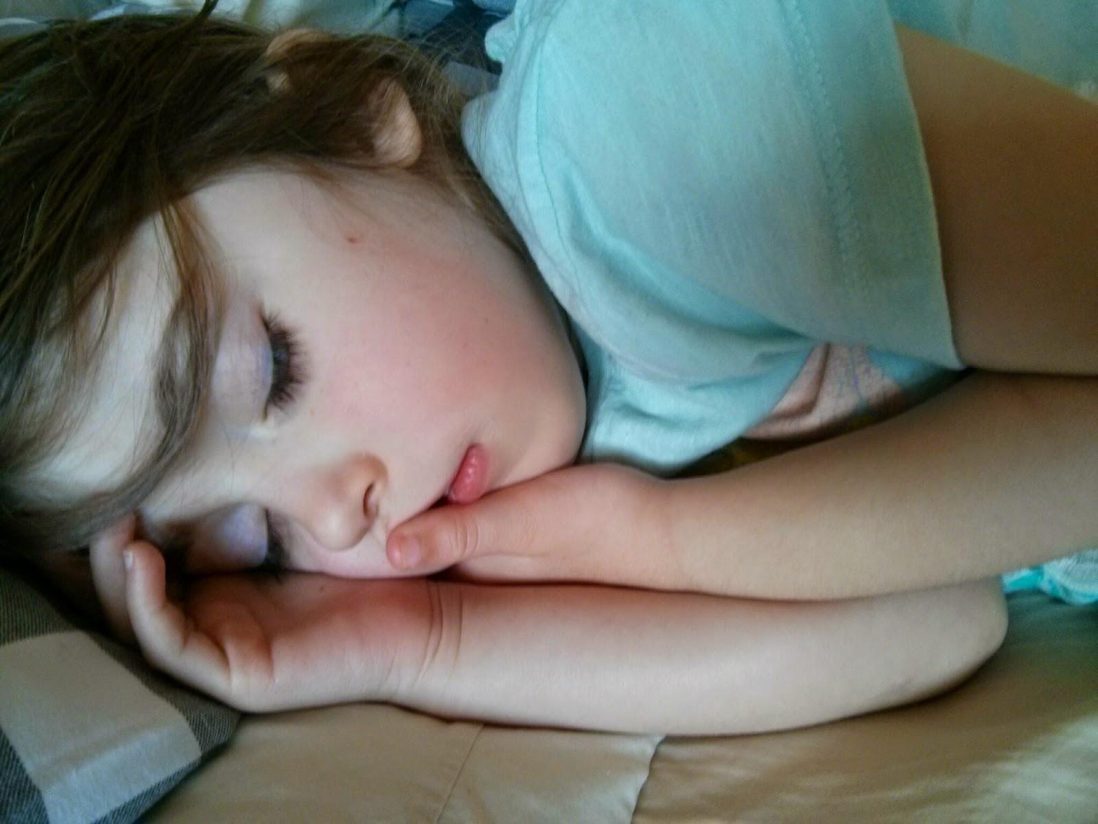 My poorly sleeping beauty