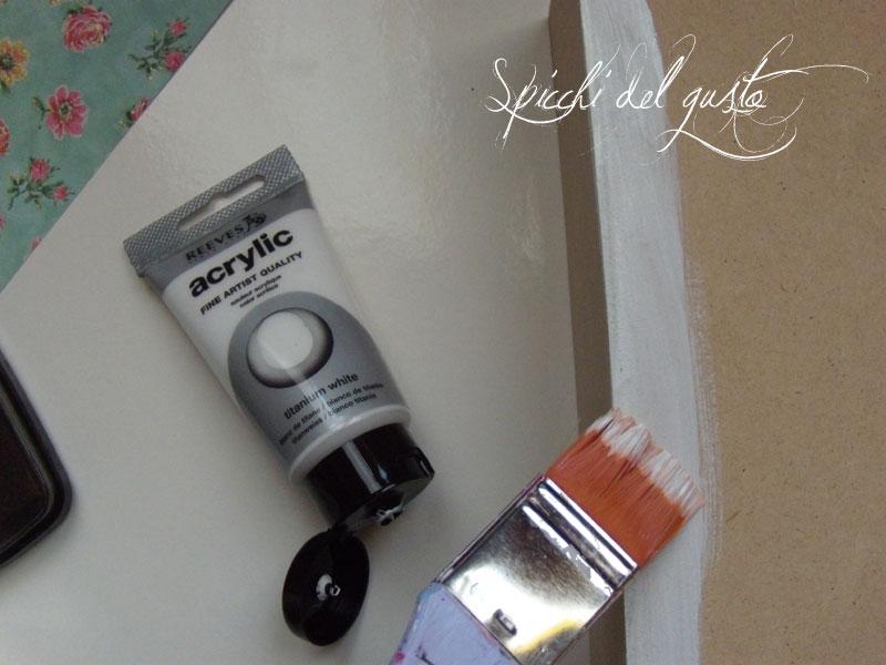 colore acrilico bianco