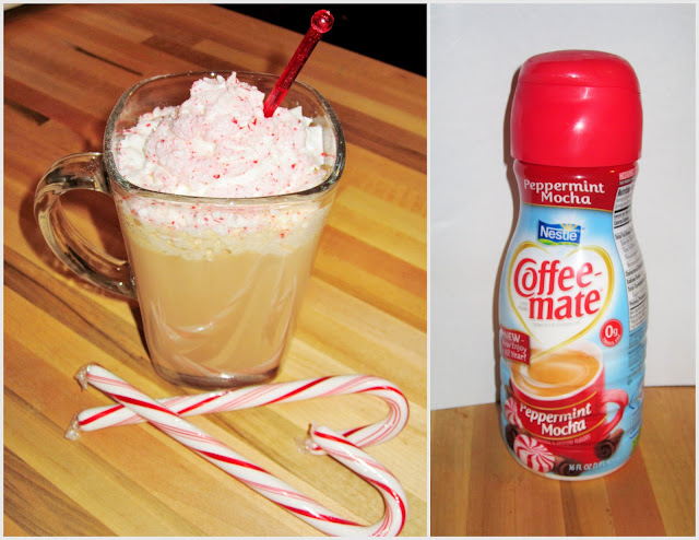 Nestle peppermint mocha Coffeemate #ad