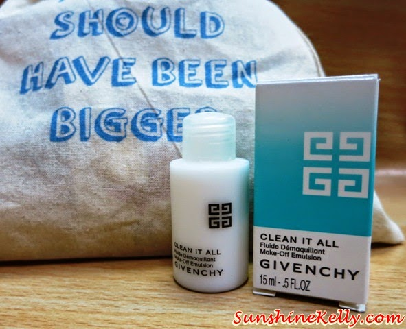 Givenchy Clean It Make Off Emulsion, The Genteel Women Bag of Love Review, The Genteel Women, Bag of Love, beauty bag Review, beauty box review, beauty review