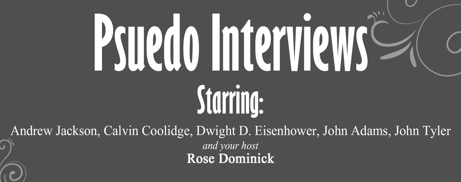 Pseudo Interviews