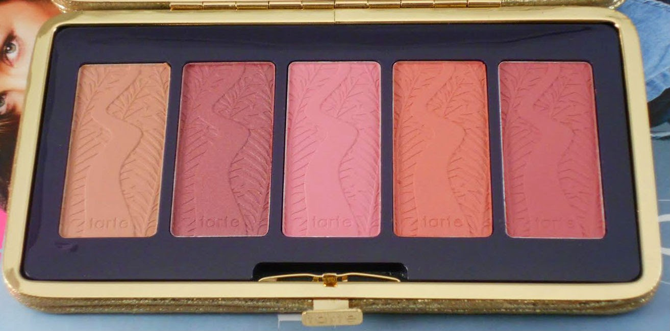 Tarte Pin Up Girl Amazonian Clay 12-Hour Blush Palette! (Holiday 2014!)