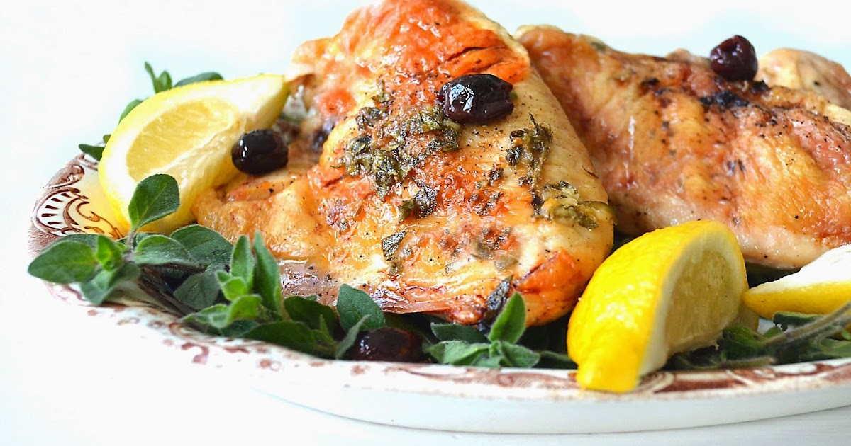 Sew French: Greek Chicken With Lemon & Olives