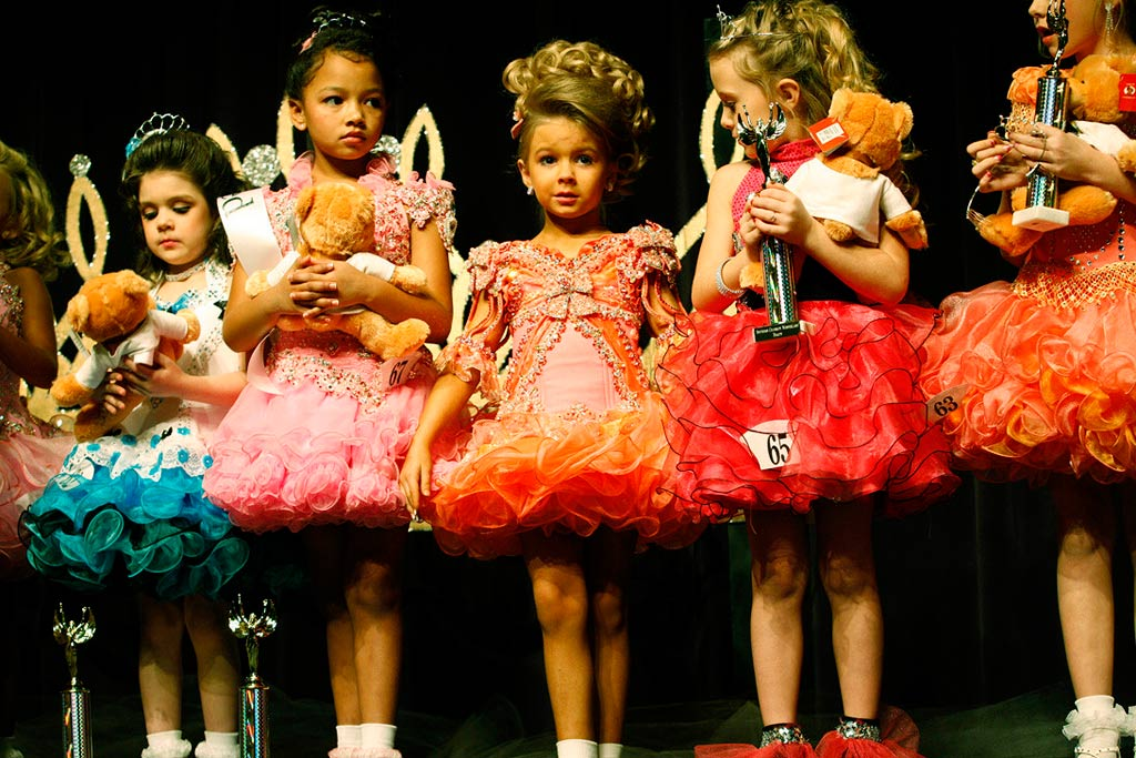However, I don't think we should dismiss kiddie beauty pageants