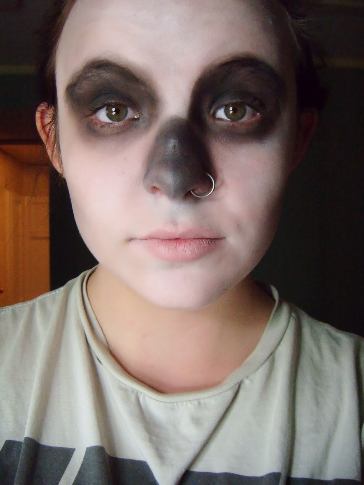Black And White Halloween Makeup Viewing Gallery