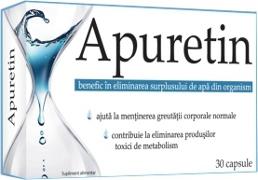 Apuretin elimina surplusul de apa din organism