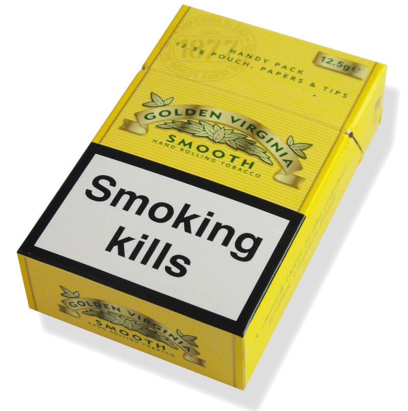 golden virginia hand rolling tobacco: