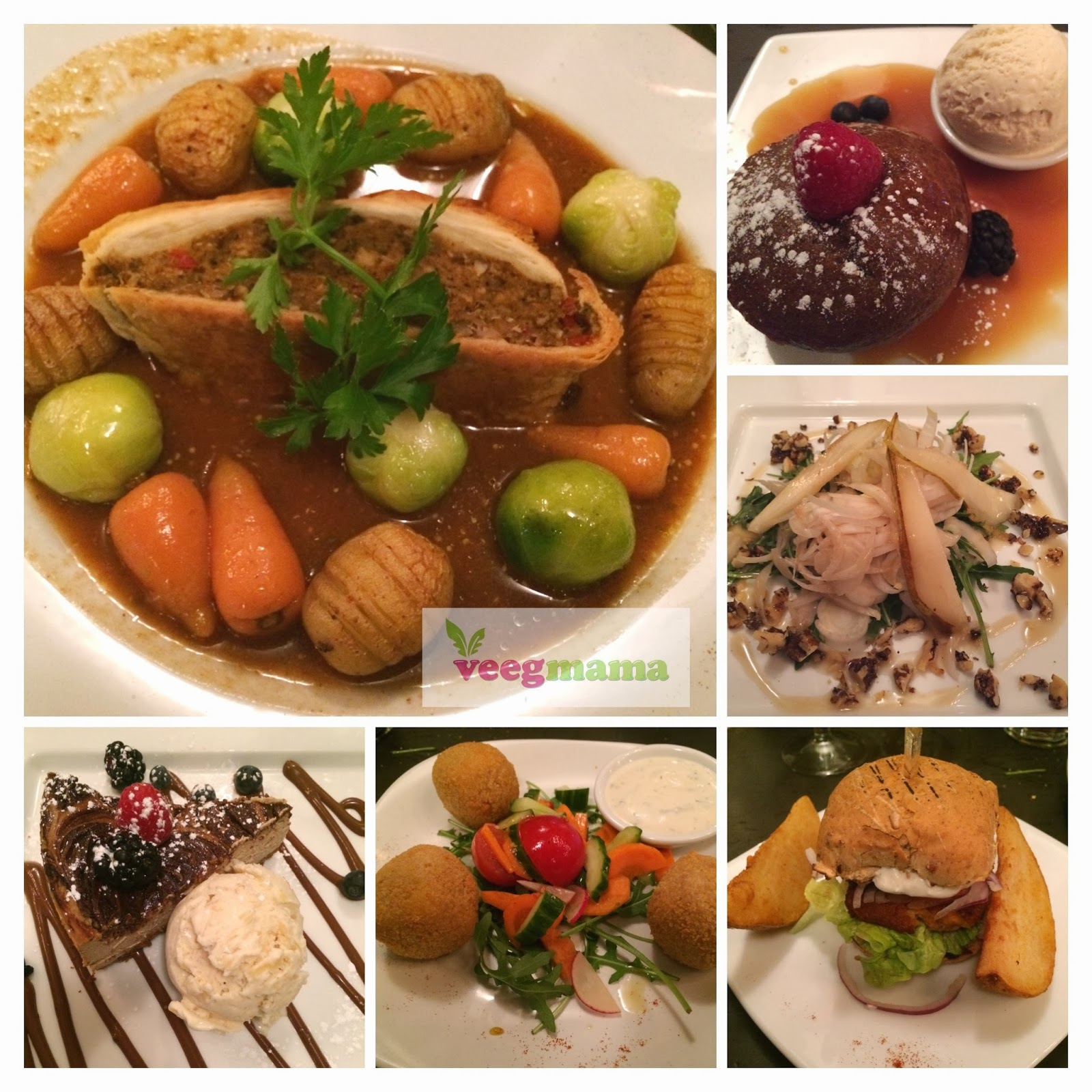 Vegan dinner at Manna in London