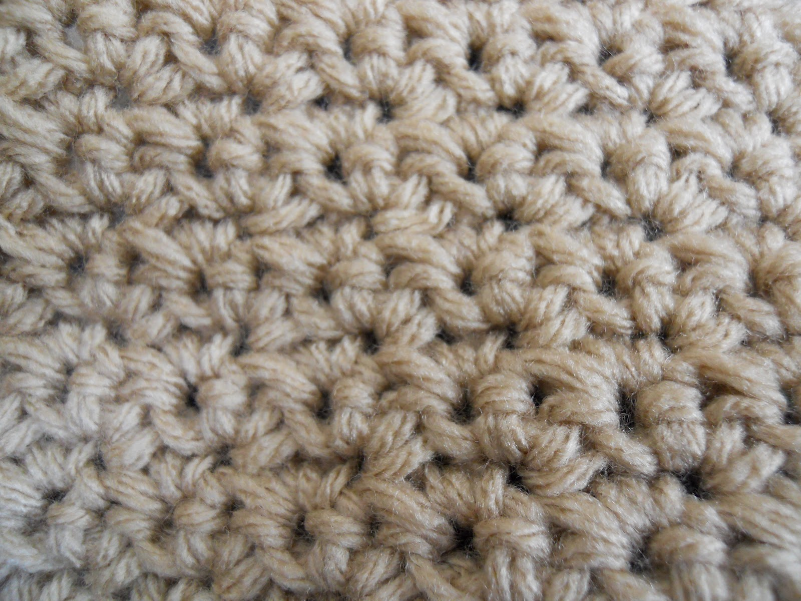 Crochet Stitches Grit : Collection of Crochet Stitches: Stitch Combination: Grit Stitch