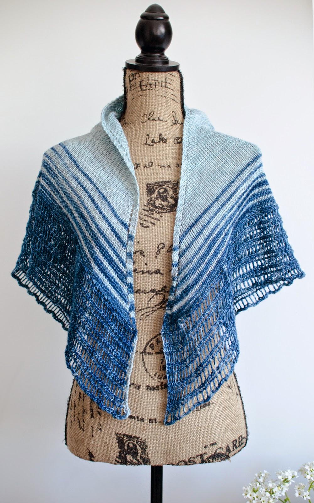 Numinous Shawl pattern by Katya Frankel