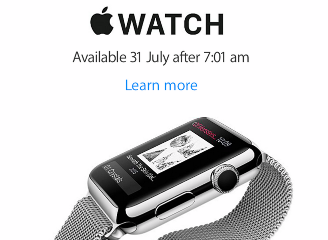 Apple Watch Nova Zelândia