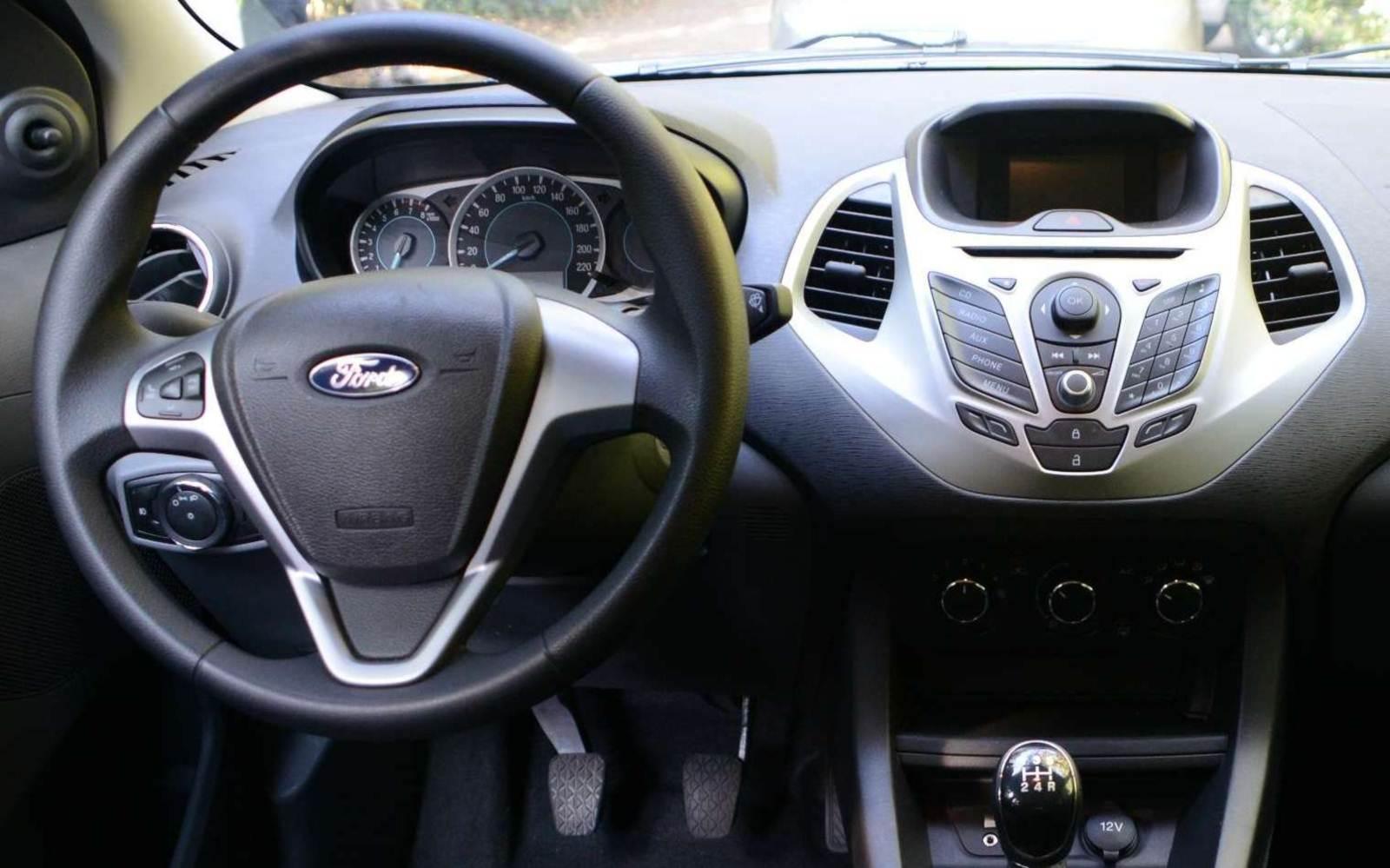 Novo Ford Ka Sel  Painel