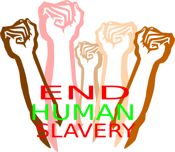what in the world end human slavery