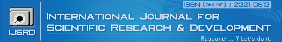 Journal Scientific Research Publishing - IJSRD - Submit Paper Online