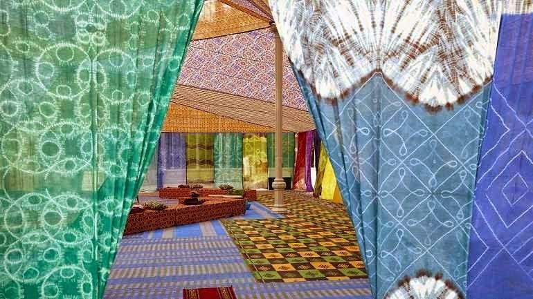 AGENDA. Actividades en la Tuiza, jaima del Palacio de Cristal